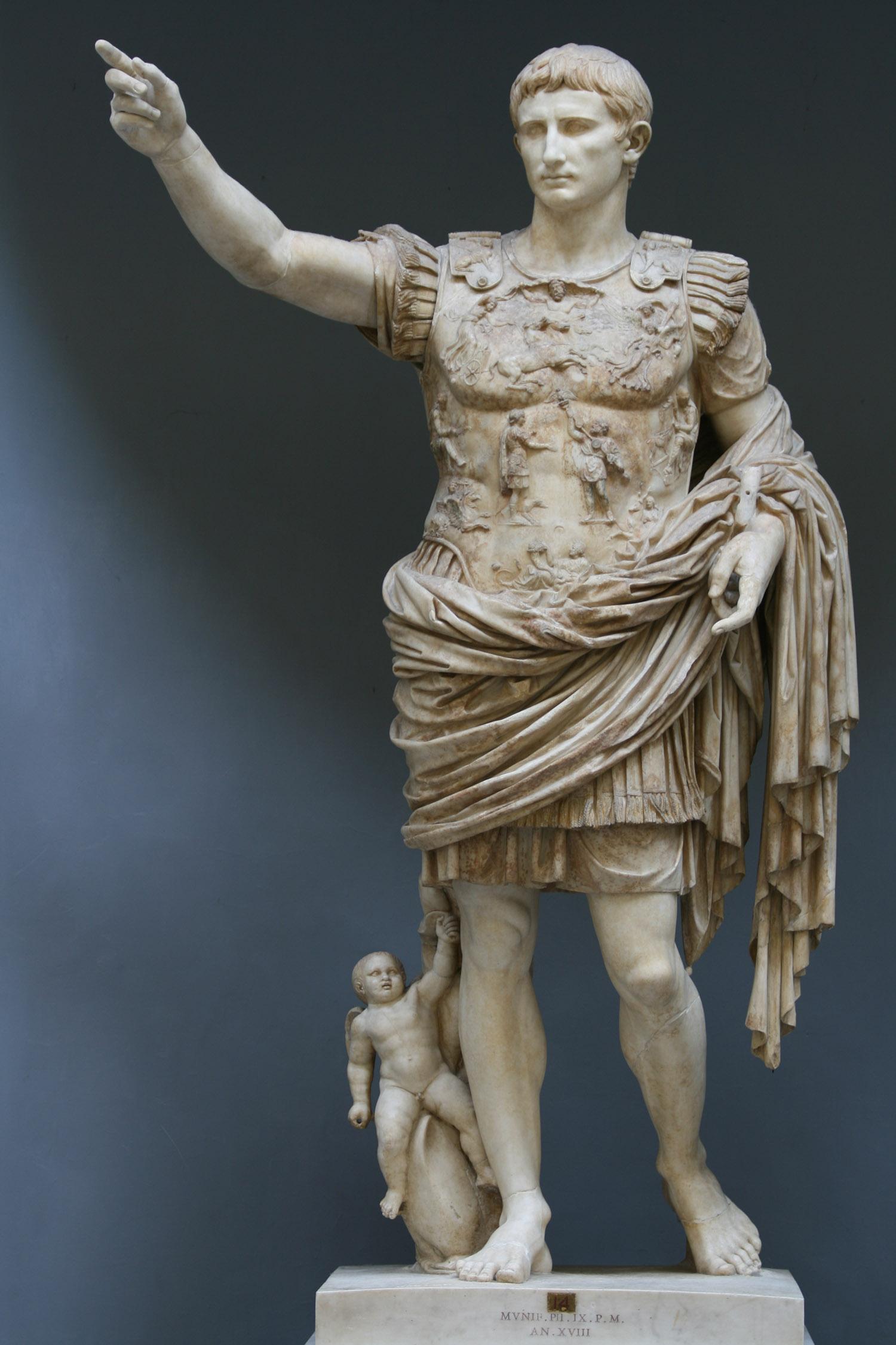 Statue de l'Empereur Auguste