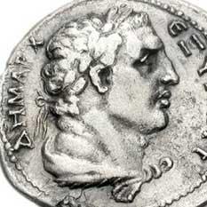 Portrait d'Hercule sur une monnaie de Trajan