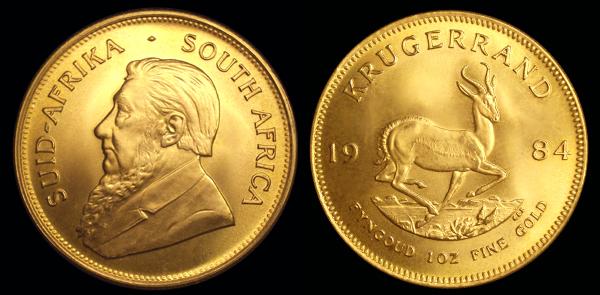 1 Krugerrand (Afric du sud) Krugerrand01
