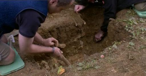 C'est au cours de discrètes fouilles archéologiques qui ont eu lieu en juillet 2015 que le trésor de plus de 4000 pièces a été découvert
