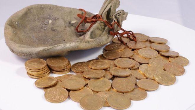 Les pièces ont été frappées entre 1847 et 1915