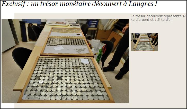 Photo du trésor de Langres