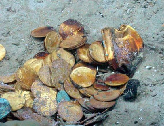 Monnaies du trésor de la Nuestra Señora de las Mercedes