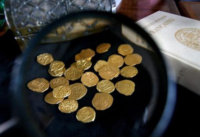 Quelques monnaies d'or anciennes...