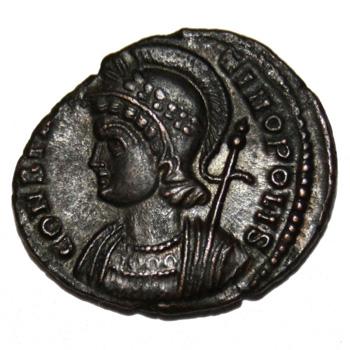 Monnaie Constantinopolis revers