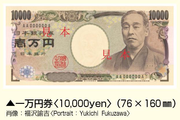 Billet de 10000 yen Japonais