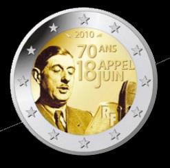 Pièce de 2 euro Appel du 18 juin