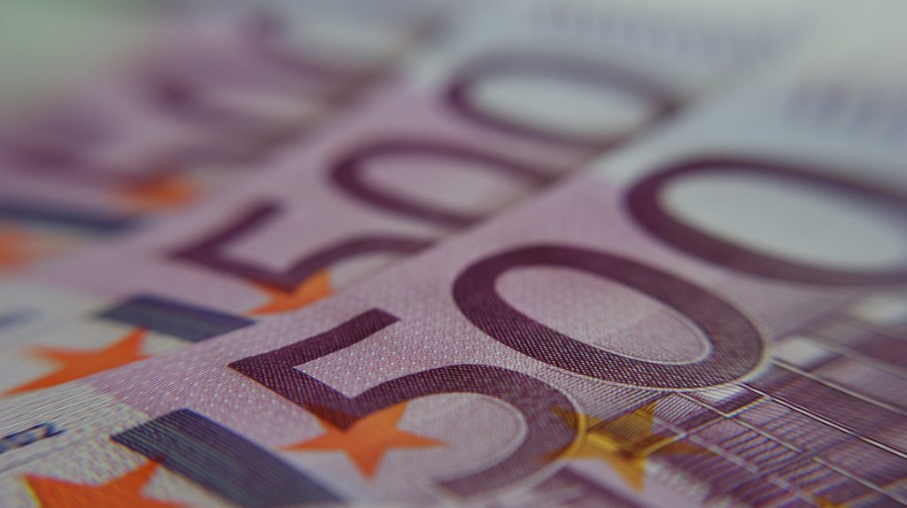 Billet en euro