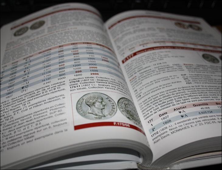 Catalogue de cotation de monnaies