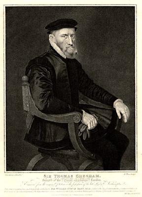Sir Thomas Gresham, auteur de la phrase