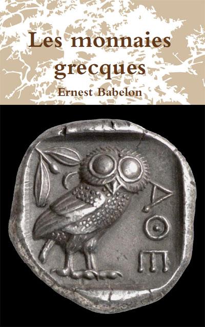 Couverture du livre Les monnaies grecques