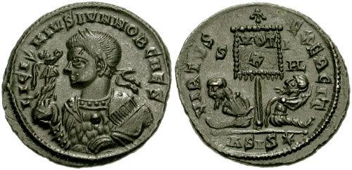 monnaie de Licinius II émise en 320 après JC