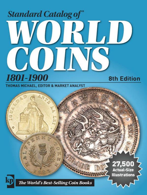 Photo de la couverture du Standard Catalog of World Coins, 1801-1900