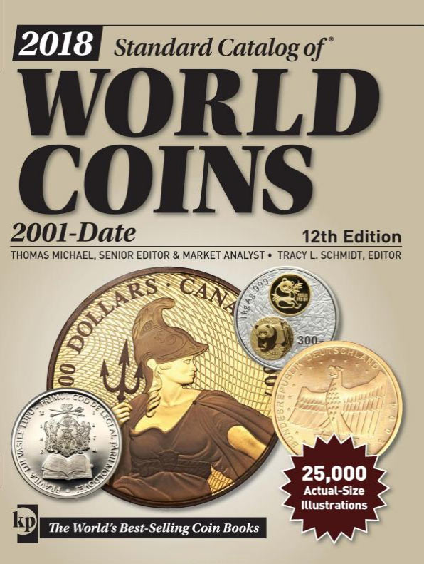 Photo de la couverture du Standard Catalog of World Coins, 2001-Date