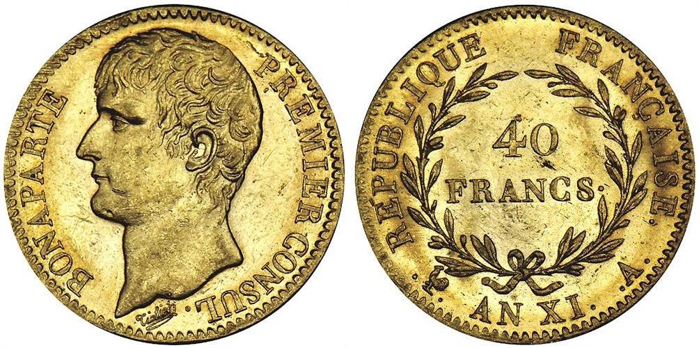 40 francs or