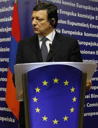 Photo de José Manuel Baroso, président de la Commission Européenne