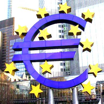Symbole de la BCE (Banque Centrale Européenne)