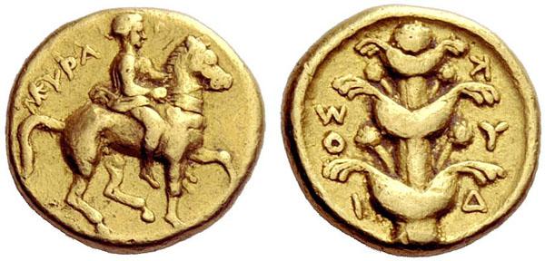 Monnaie Cyrene