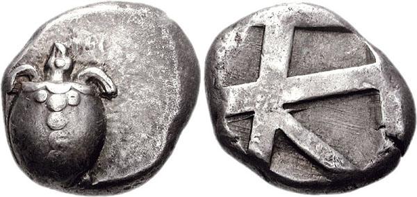 Monnaie Egine