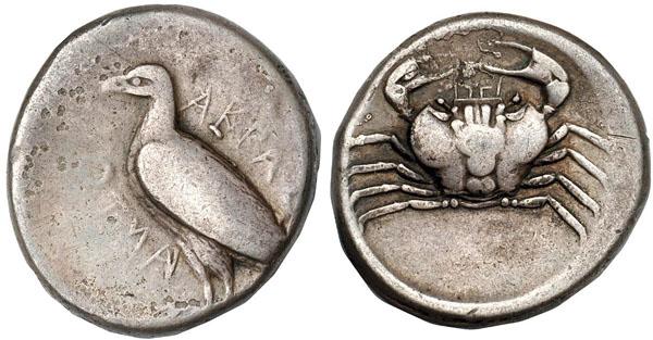 Monnaie Agrigente