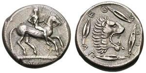 Monnaie Léontini