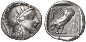 Monnaie Athènes