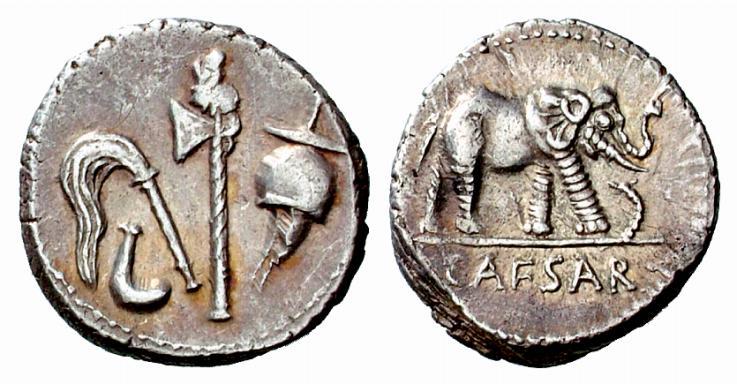 piece de monnaie cesar