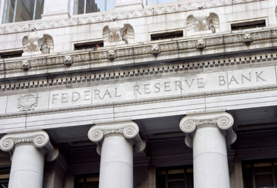 Façade de la réserve fédérale américaine (FED)