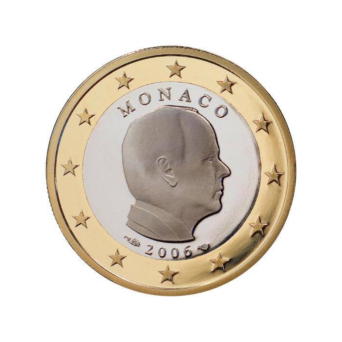 12 Pièce 1 euro Monaco MN 100 2006 Albert
