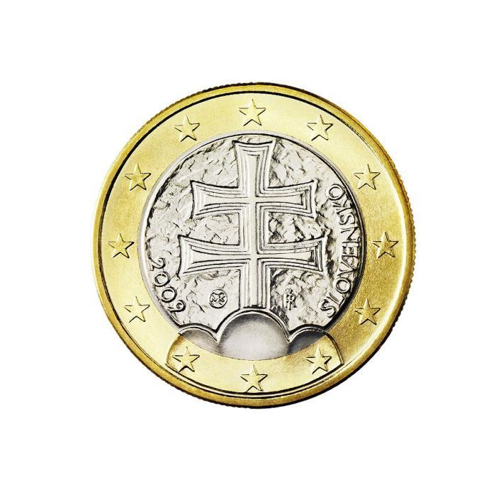17 Pièce 1 euro Slovaquie SK 100 2009