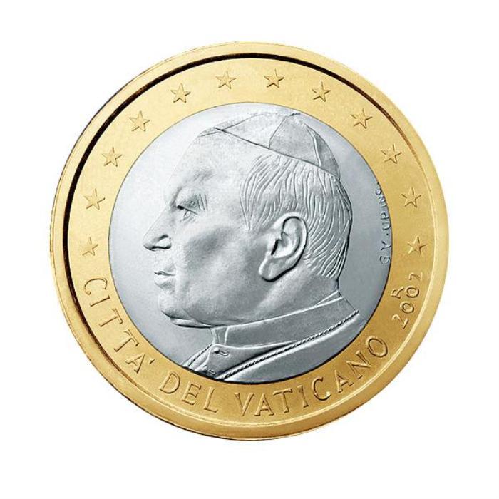19 Pièce 1 euro Vatican  VA 100 2005