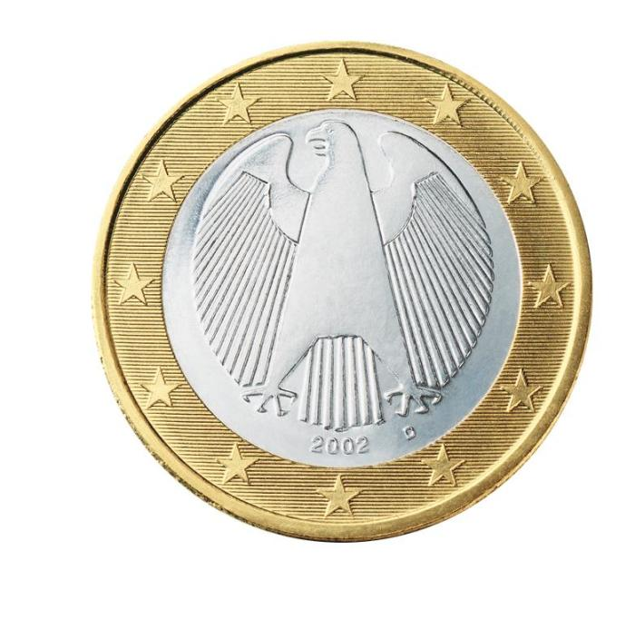 3 Pièce 1 euro Allemagne DE 100 2002
