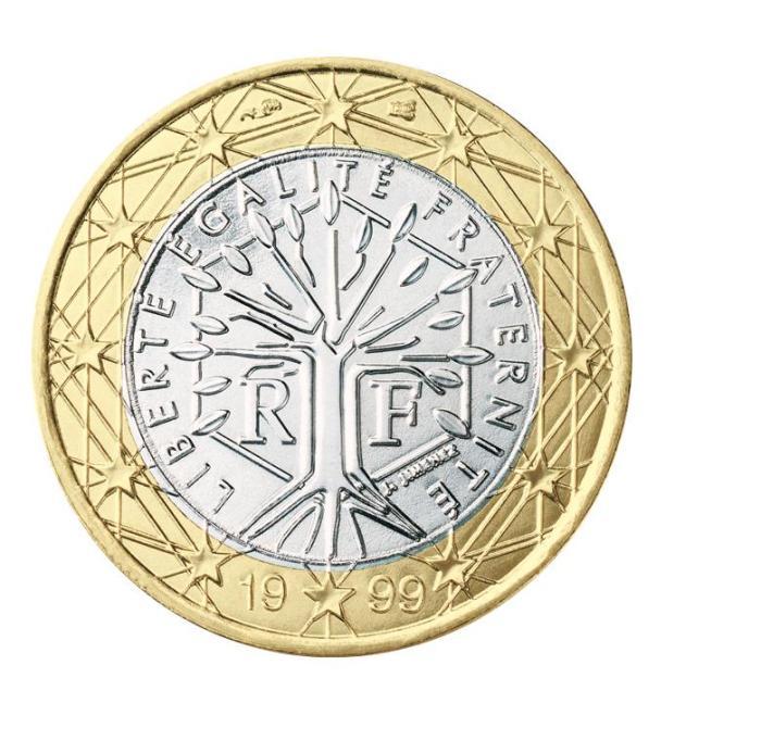 6 Pièce 1 euro France FR 100 1999