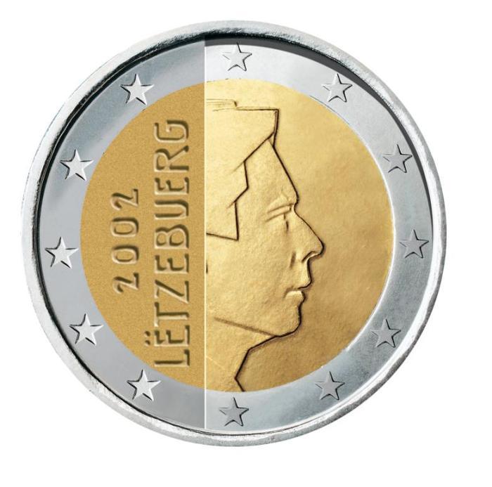 10 Pièce 2 euro Luxembourg LU 200 2002