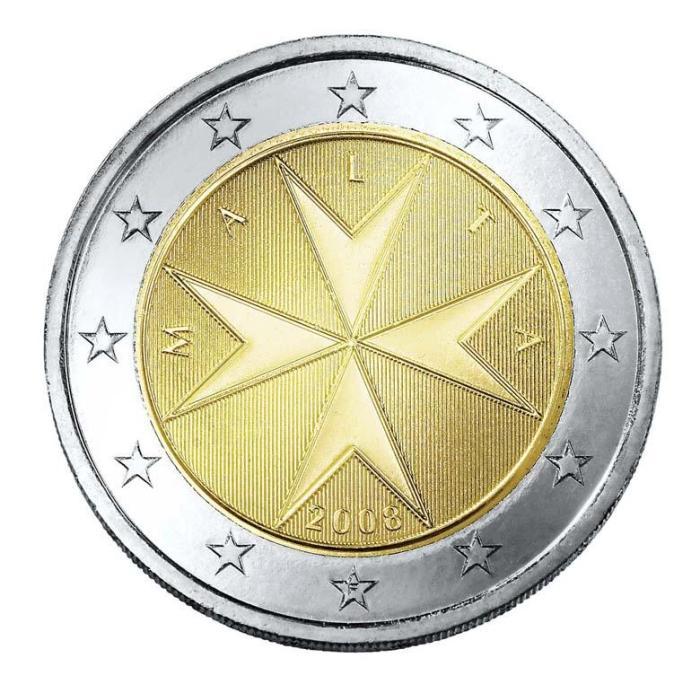 12 Pièce 2 euro Malte MT 200 2007