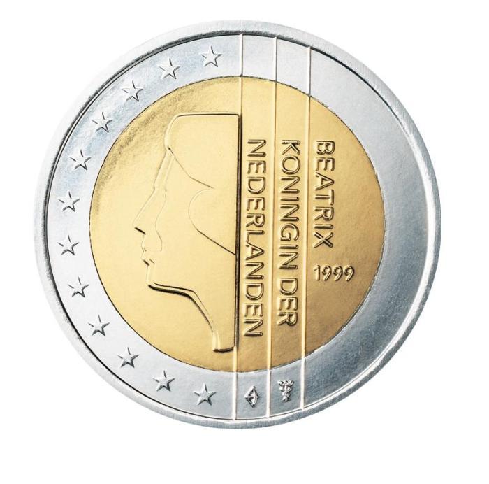 13 Pièce 2 euro Pays-Bas NL 200 1999