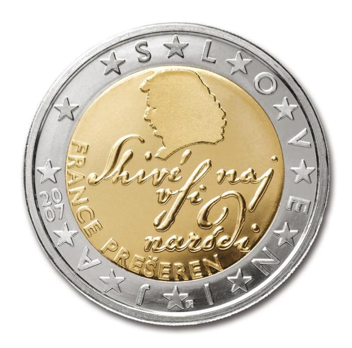 15 Pièce 2 euro Slovénie SI 200 2007