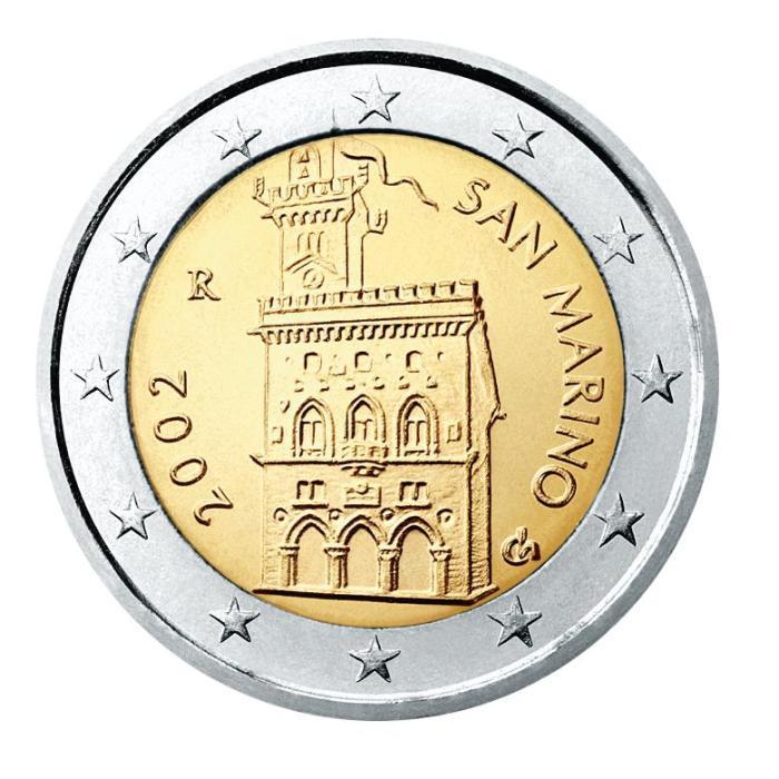17 Pièce 2 euro San Marin SM 200 2002
