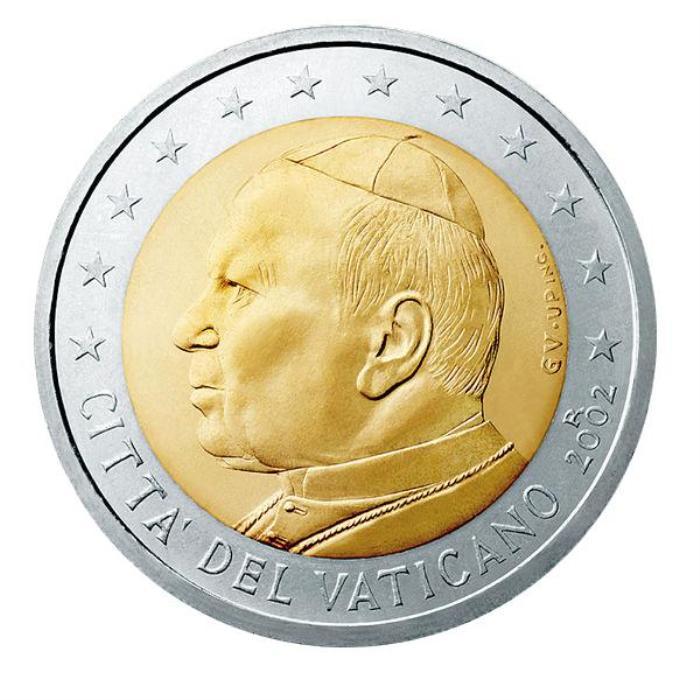 18 Pièce 2 euro Vatican VA 200 2005