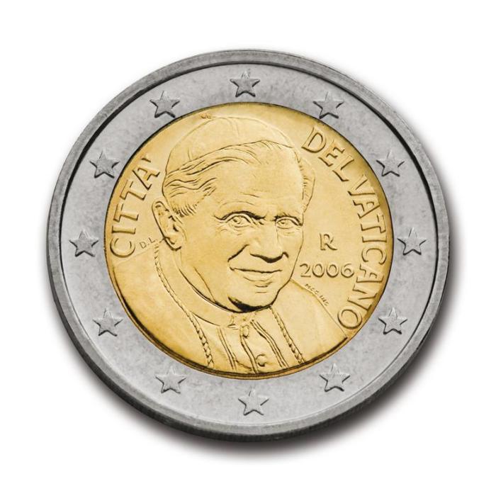 19 Pièce 2 euro Vatican VA 200 2006