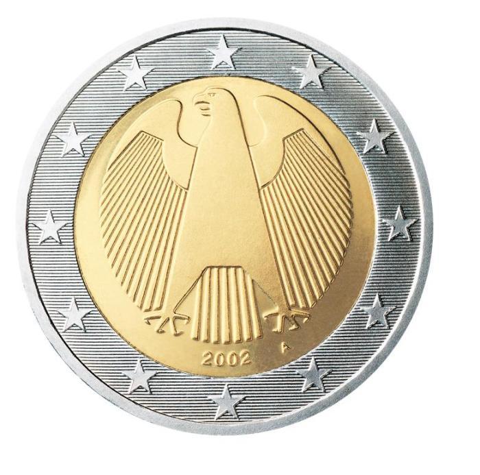 3 Pièce 2 euro Allemagne DE 200 2002