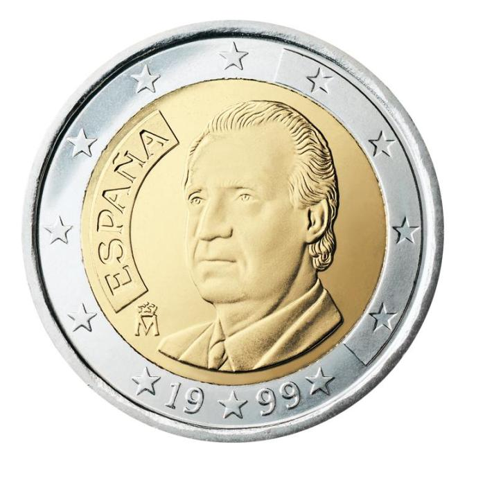 4 Pièce 2 euro Espagne  ES 200 1999