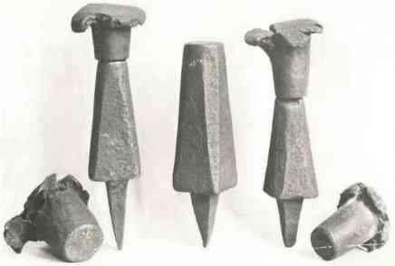 4. Coins monétaires du Moyen Age (Angleterre Edouard I)