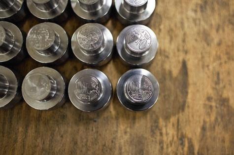 6. Coins monétaires destinés à la fabrication de pièces en euro