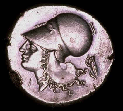 2. Gorythos (carquois scythe), arc