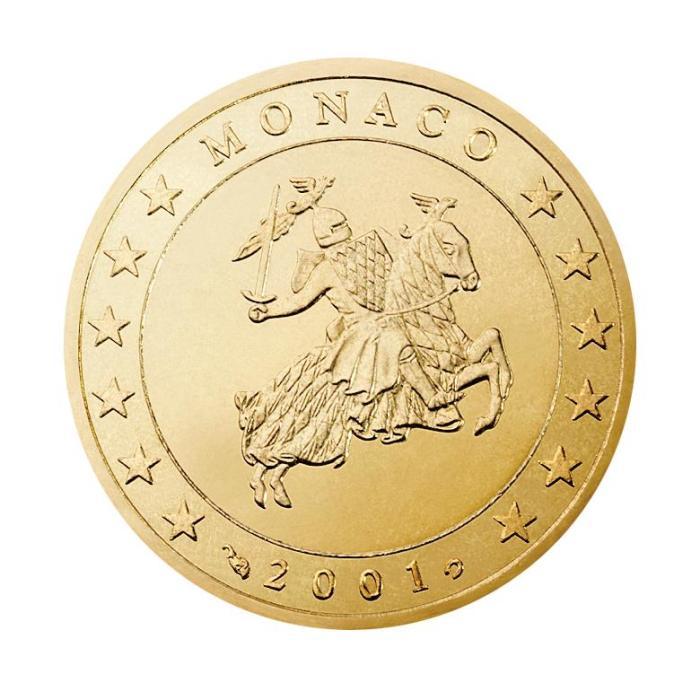11Pièce 50 centimes Monaco MN 050 2001