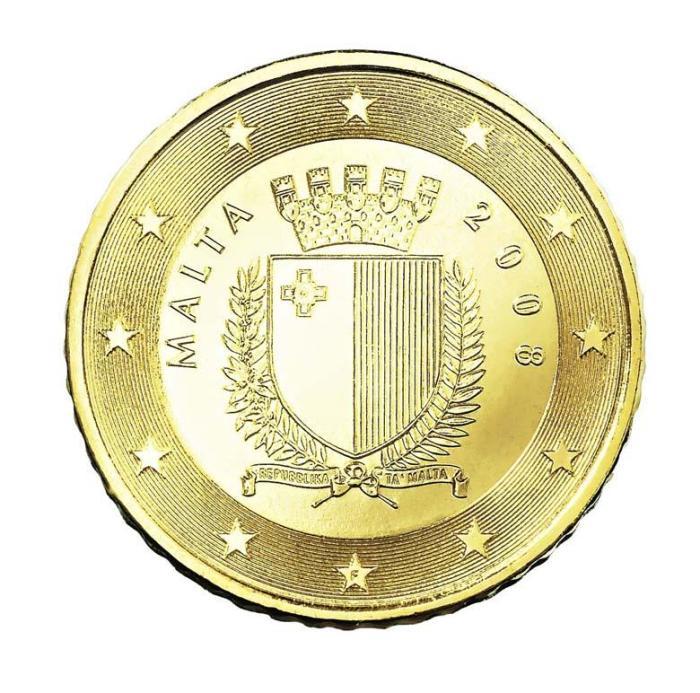 12 Pièce 50 centimes Malte MT 050 2007