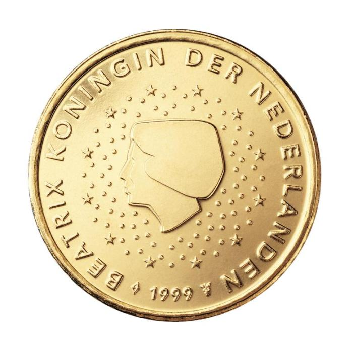 13 Pièce 50 centimes Pays-Bas NL 050 1999