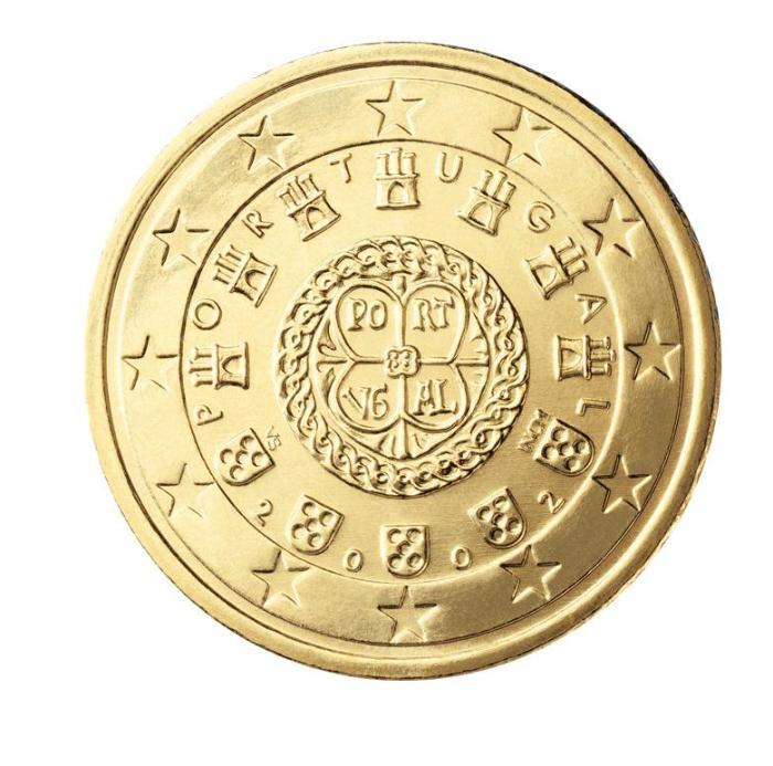 14 Pièce 50 centimes Portugal PT 050 2002