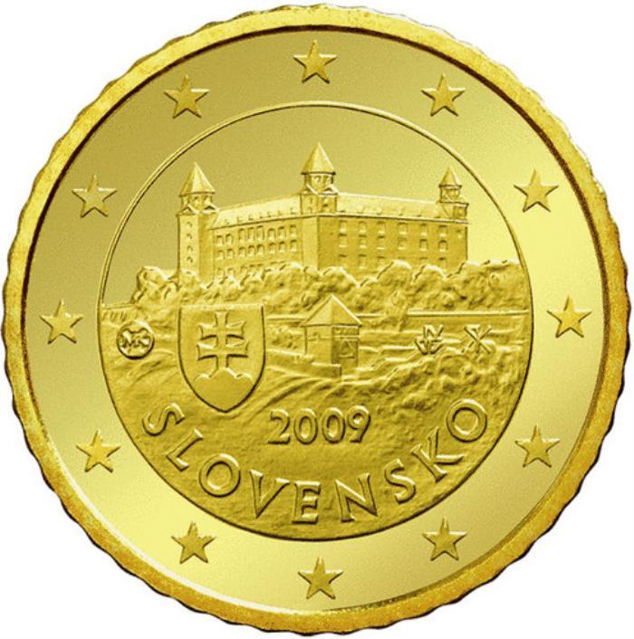 16 Pièce 50 centimes Slovaquie SK 050 2009